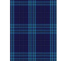 00489 Indigo Blue Tartan Photographic Print