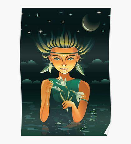Shaman girl Poster