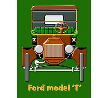 1908 Cabriolet Ford Model T  Photographic Print