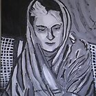 Indira Ghandi  by Kate Farrant