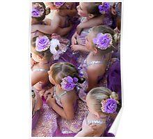Purple Girls Poster