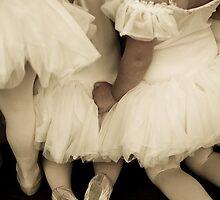 Backs of Baby Ballerinas by Denice Breaux
