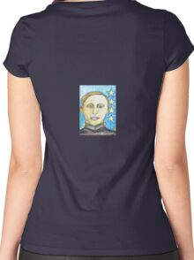 Young George Patton Women's Fitted Scoop T-Shirt