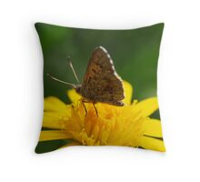 Yellow Lunch #2 Throw Pillow