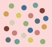 Hippy polka dots One Piece - Short Sleeve
