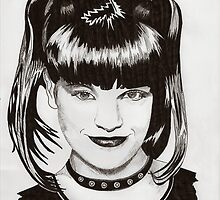 Abby - Pauley Perrette by Susan van Zyl