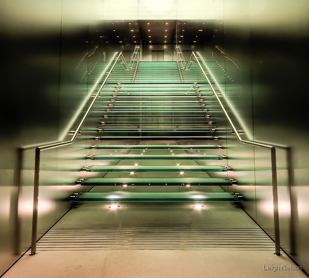 Ascending... by Leigh Nelson