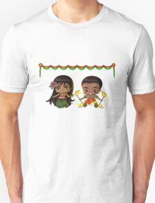 Chibi Hawaiians Unisex T-Shirt