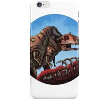 Dinosaur Cannibalism iPhone Case/Skin