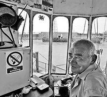 Operator, Newport Transporter Bridge by Tim Collier
