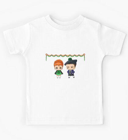 Irish Chibis Kids Tee