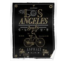 Los Angeles Bicycle Club Print Poster