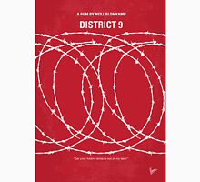 No023 My District 9 minimal movie poster Unisex T-Shirt