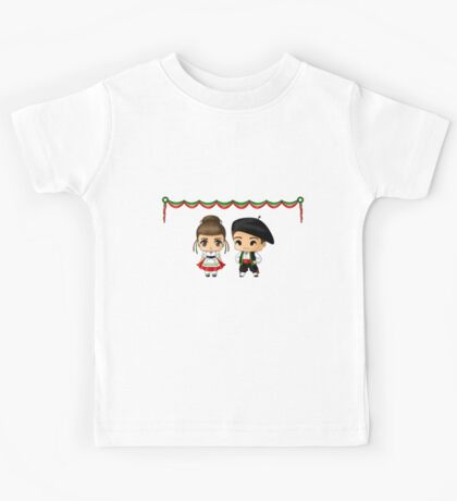 Italian Chibis Kids Tee