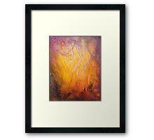 Inferno Framed Print
