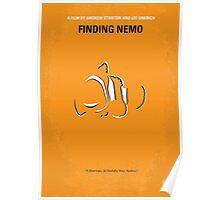 No054 My Finding Nemo minimal movie poster Poster