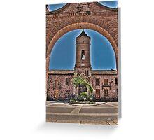 Church view Greeting Card