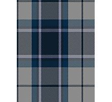 00492 Longniddry Blue Dance or Eildon or Harmony Eildon Tartan  Photographic Print