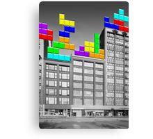 RETRO-Spective: Tetris Canvas Print