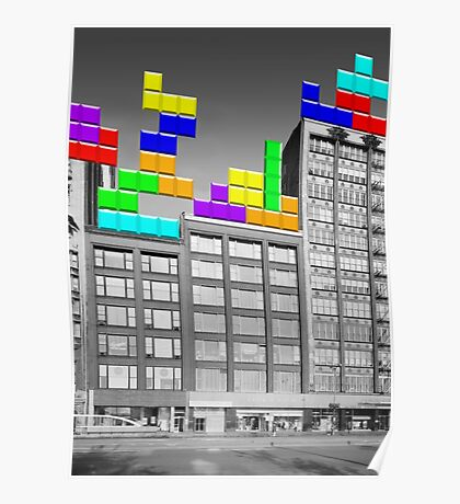 RETRO-Spective: Tetris Poster
