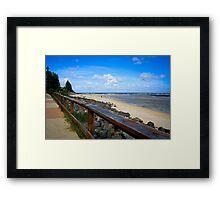 Moffat Beach, Qld Framed Print