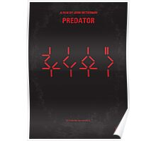 No066 My predator minimal movie poster Poster