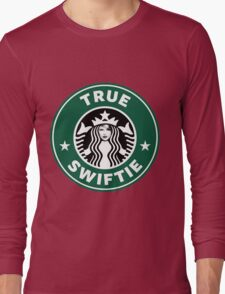 Taylor Swift - True Swiftie - Starbucks Logo Long Sleeve T-Shirt