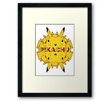 Pokemon - Pikachu - Kaleidoscope Framed Print