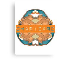 Pokemon - Charizard - Kaleidoscope Canvas Print