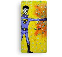 Wonder Twin Zan Day of the Dead Canvas Print