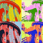 Brighton Rocks - Pop Art Style by Lisa Hafey