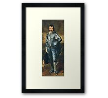 Blue Jim Framed Print