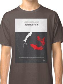 No073 My Rumble fish minimal movie poster Classic T-Shirt
