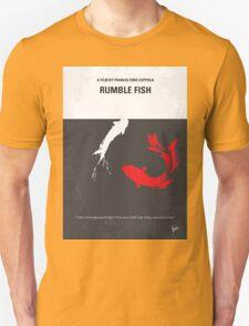 No073 My Rumble fish minimal movie poster Unisex T-Shirt
