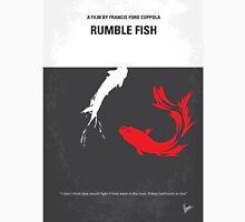 No073 My Rumble fish minimal movie poster Unisex T-Shirt