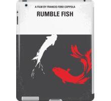 No073 My Rumble fish minimal movie poster iPad Case/Skin