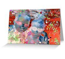 Underwater Boys 2 Greeting Card