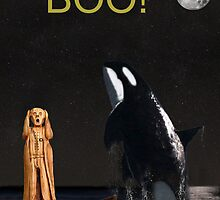 Boo Scream with Orca by Eric Kempson