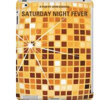 No074 My saturday night fever minimal movie poster iPad Case/Skin