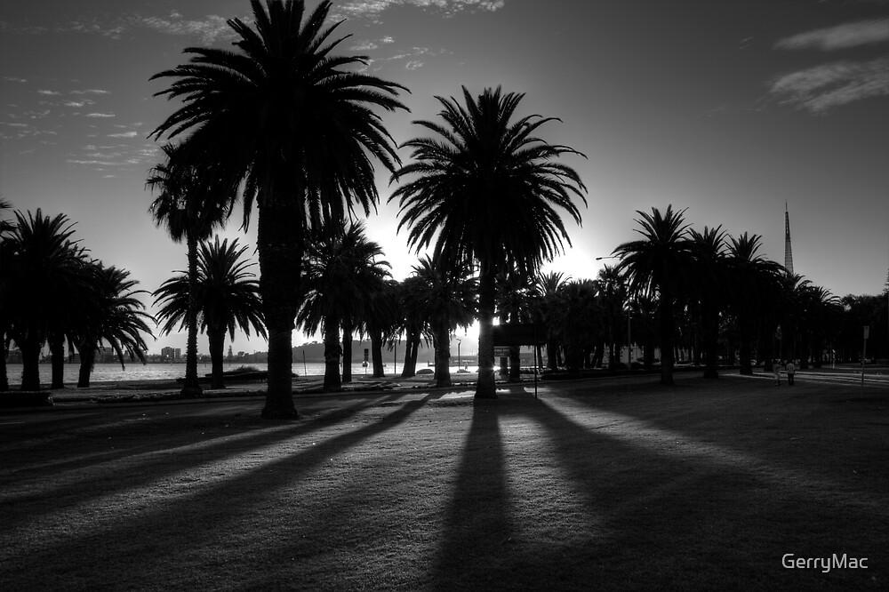 Sundown Riverside Drive by GerryMac