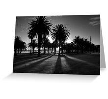 Sundown Riverside Drive Greeting Card