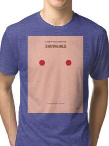 No076 My showgirls minimal movie poster Tri-blend T-Shirt