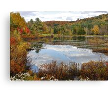 New England in Fall - Please view large Canvas Print
