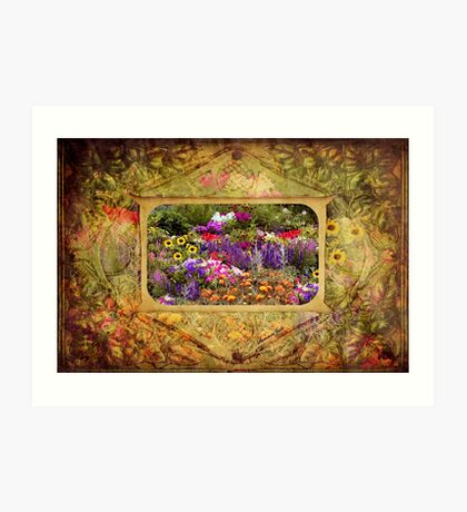 A Secret Garden within the Heart Art Print