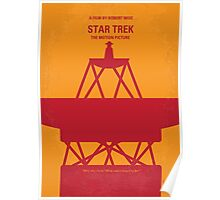 No081 My Star Trek - 1 minimal movie poster Poster