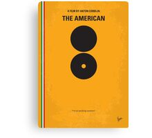 No088 My The American minimal movie poster Canvas Print