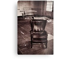Take a seat and we'll talk Metal Print