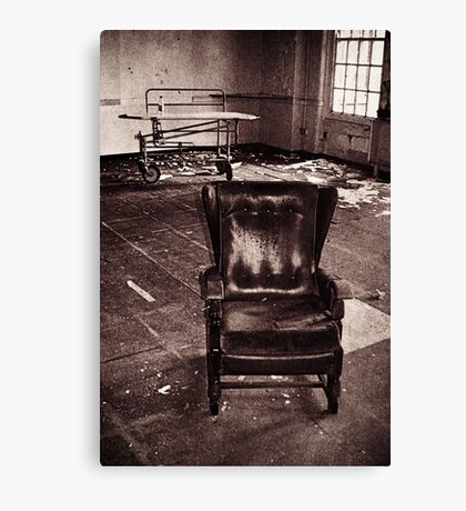 Take a seat and we'll talk Canvas Print