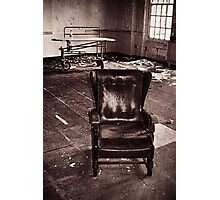 Take a seat and we'll talk Photographic Print