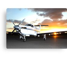 Pilatus PC 12/45 Canvas Print